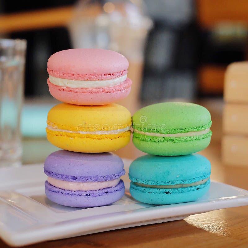 Macaron color royalty free stock image