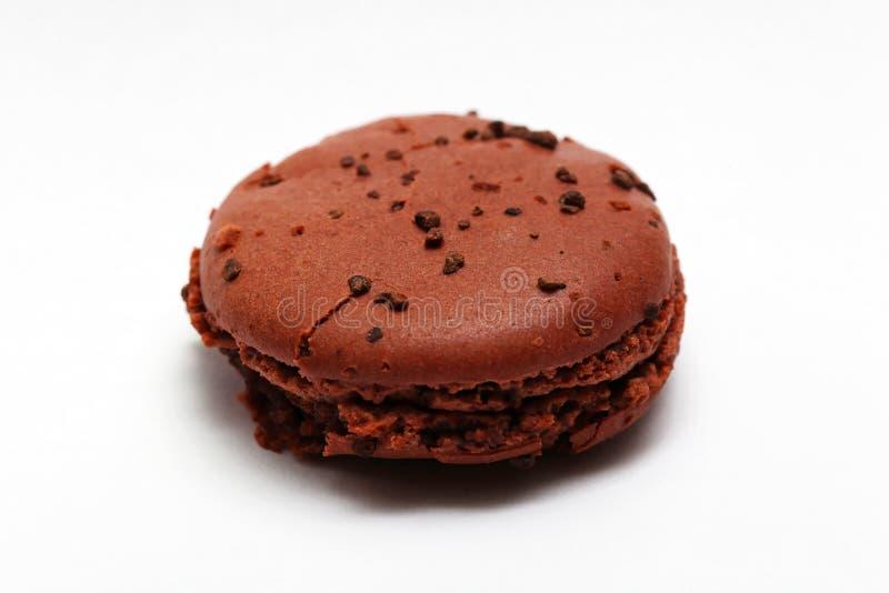Macaron kakao royaltyfri fotografi