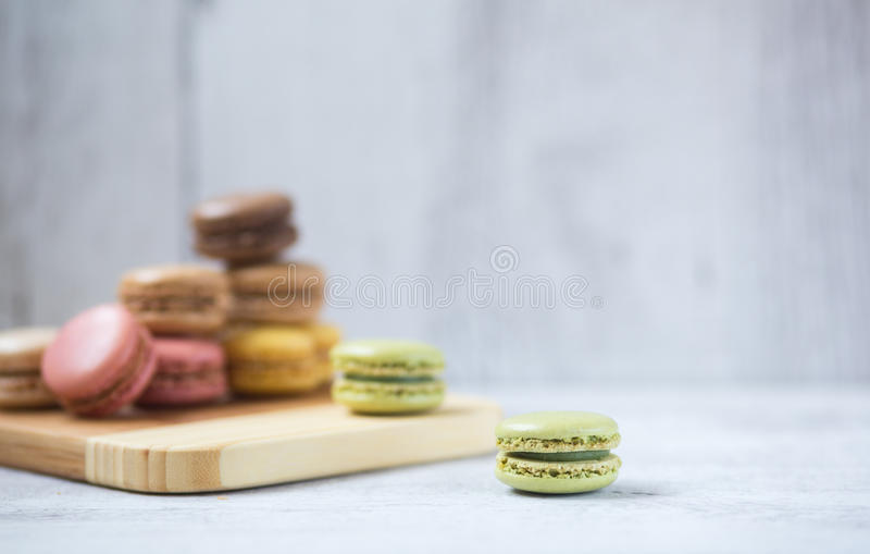 Macaron-Plätzchen lizenzfreie stockbilder