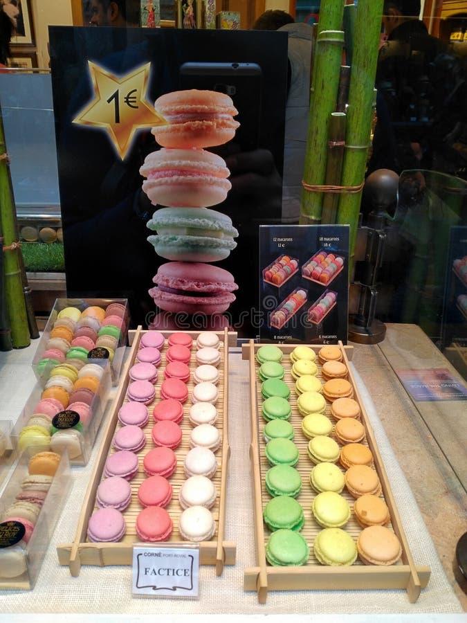 Macarone imagens de stock