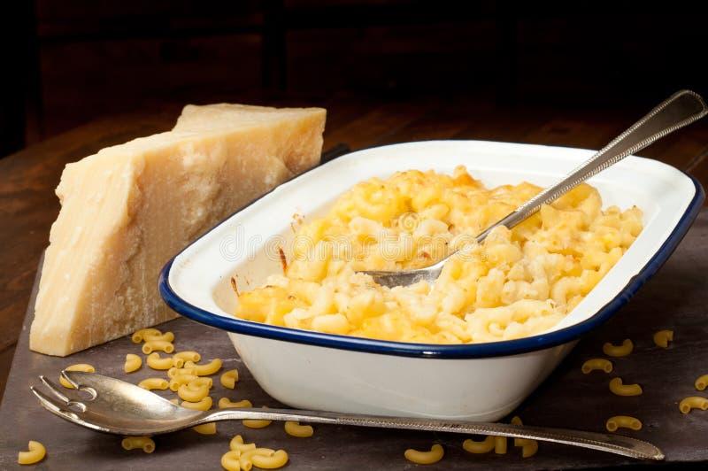 Macarone cheese royalty free stock photo