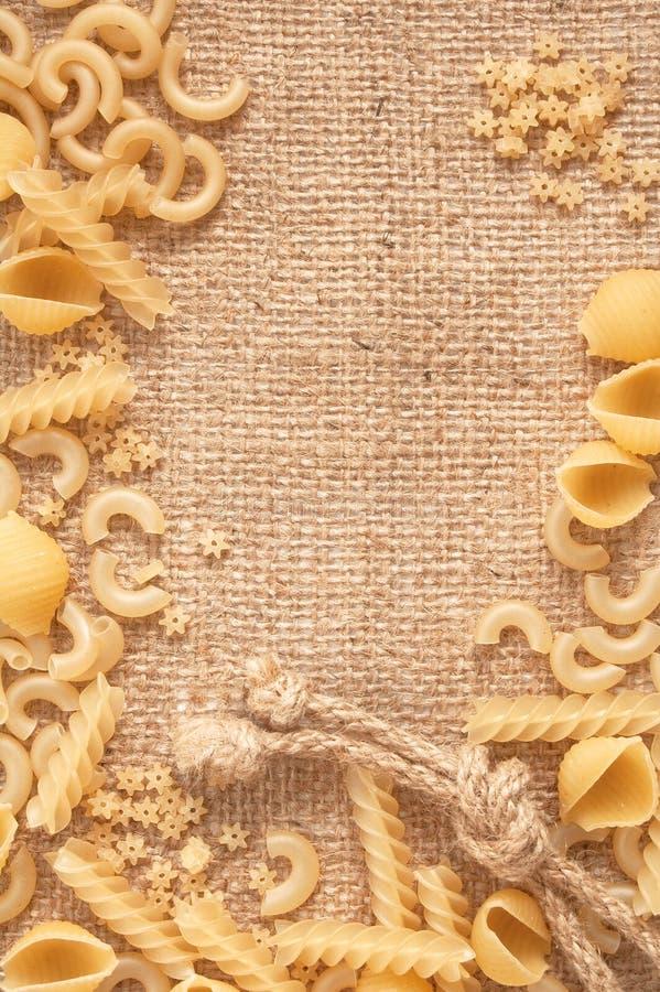 macaroni ανάμιξε άψητο στοκ φωτογραφίες