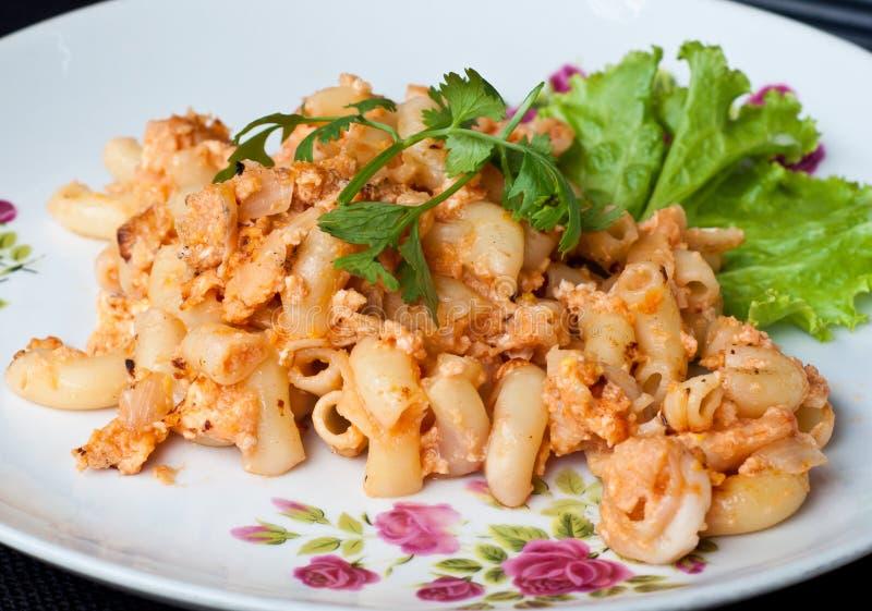 macaroni θαλασσινά στοκ εικόνες