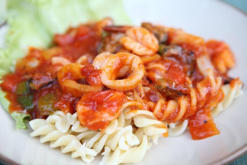 Macaroni θαλασσινά στοκ εικόνες με δικαίωμα ελεύθερης χρήσης