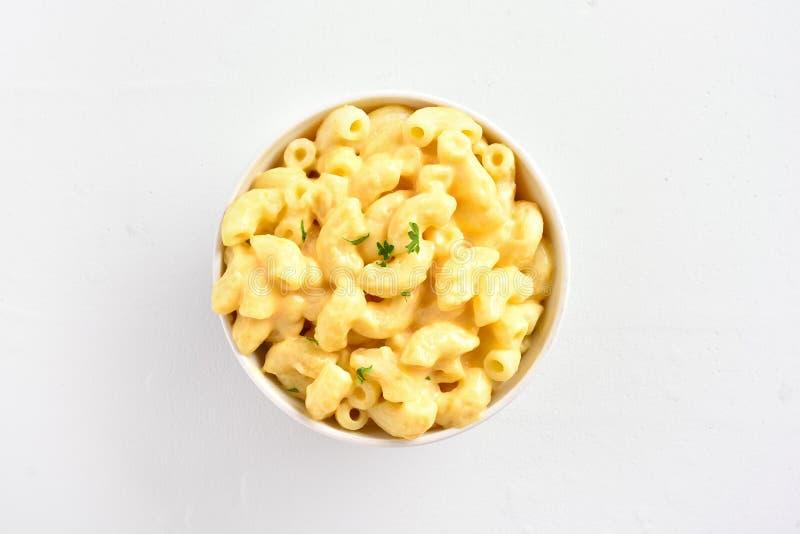 Macaroni και τυρί στοκ εικόνες