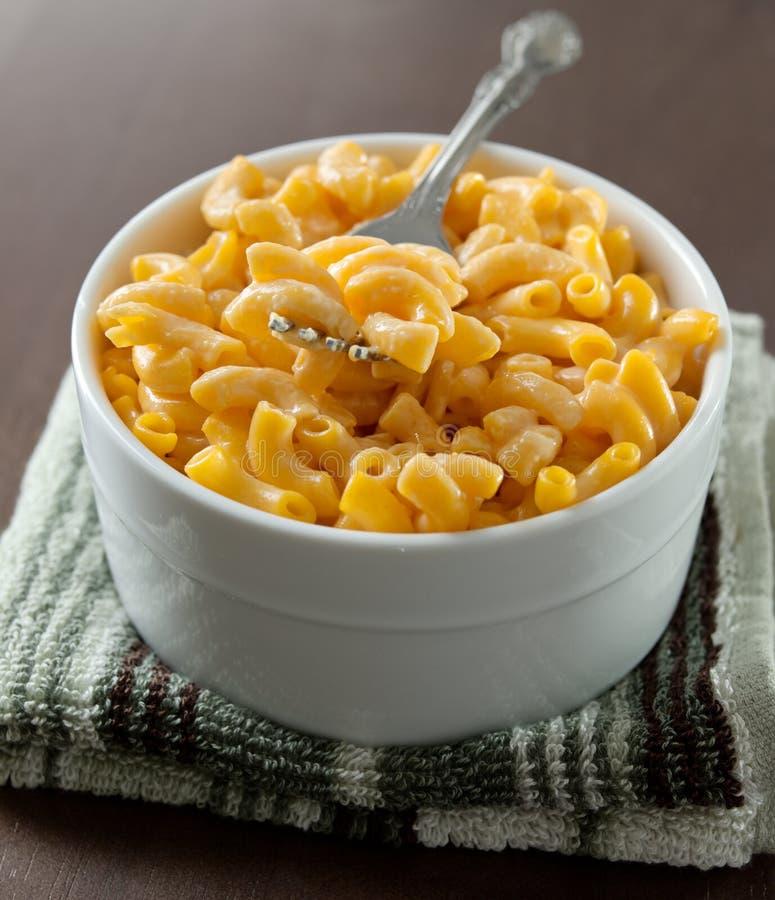 Macaroni και τυριών πιάτο στοκ φωτογραφία με δικαίωμα ελεύθερης χρήσης