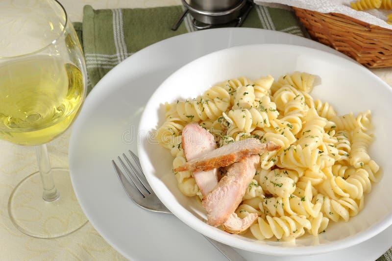 macaroni κοτόπουλου στοκ φωτογραφίες με δικαίωμα ελεύθερης χρήσης