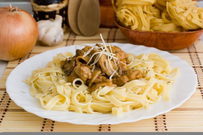 macaroni κρέας στοκ εικόνα με δικαίωμα ελεύθερης χρήσης