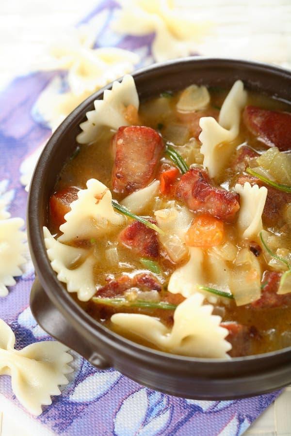 macaroni κύβων χοιρινό κρέας φούρν&omeg στοκ φωτογραφίες με δικαίωμα ελεύθερης χρήσης