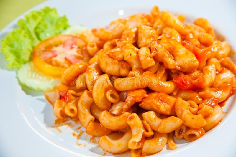 macaroni λαχανικά πιάτων στοκ φωτογραφίες με δικαίωμα ελεύθερης χρήσης