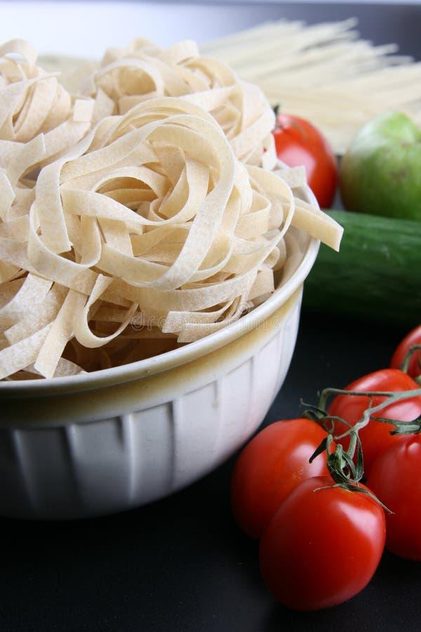 macaroni ντομάτες στοκ εικόνα