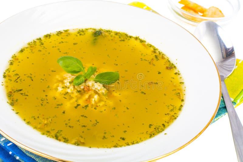 macaroni τροφίμων ανασκόπησης μωρών ακατέργαστο λευκό σούπα ζυμαρικών κοτόπου&lambda στοκ φωτογραφίες με δικαίωμα ελεύθερης χρήσης