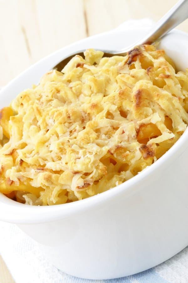 macaroni τυριών στοκ φωτογραφία