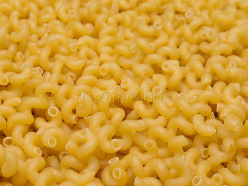Macaroni. Food for pasta eating at dinner meal stock image
