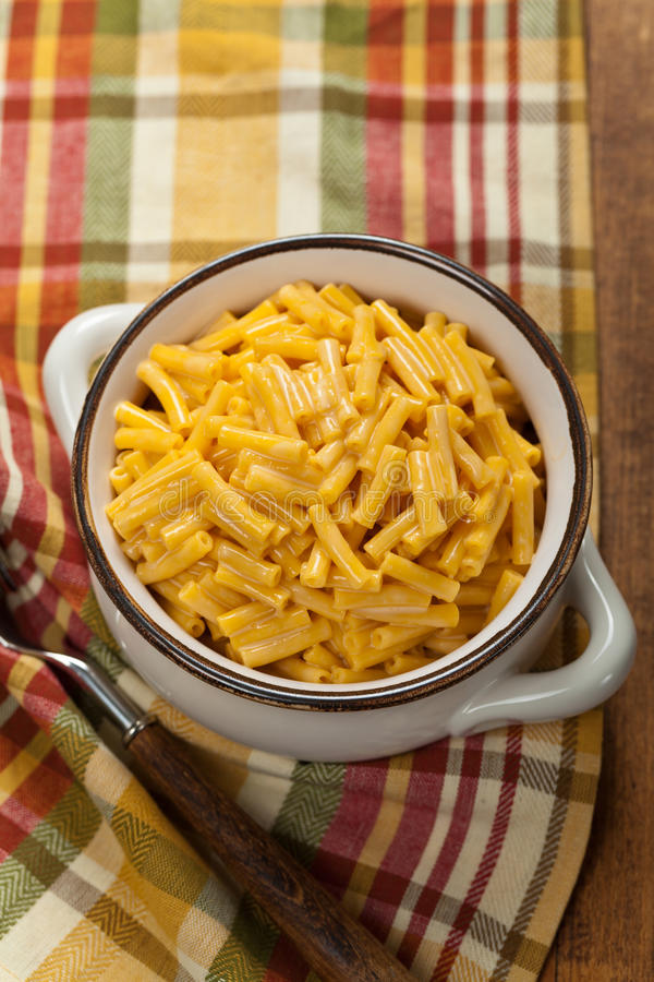Macaroni en Kaas stock foto