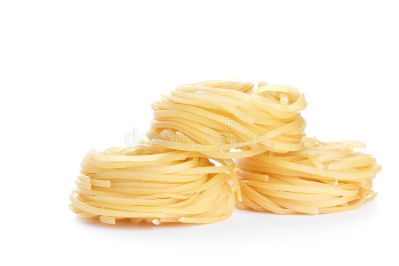Macaronis de Tagliatelle image stock