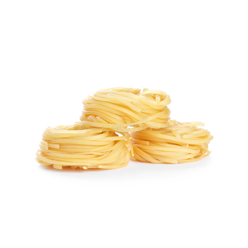 Macaronis de tagliatelles photographie stock libre de droits