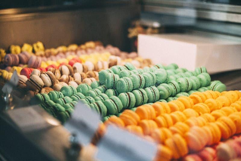 Macarons在马略卡 免版税库存图片