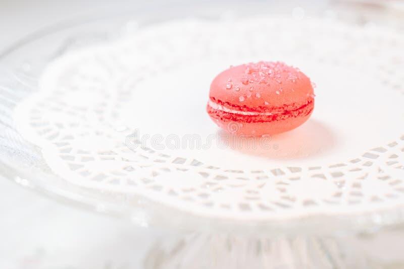 Macarons法式酥皮点心 免版税库存照片