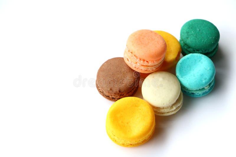 Macarons甜点面包店 图库摄影