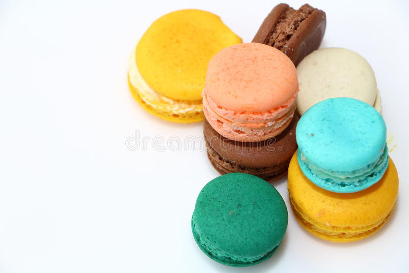 Macarons甜点面包店 免版税图库摄影
