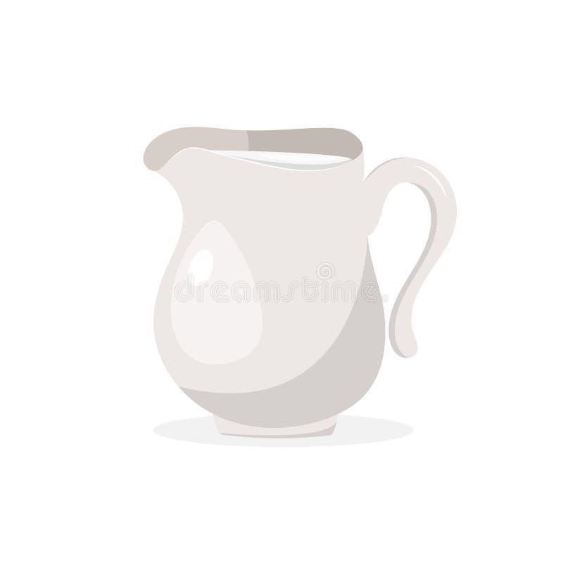 Macarons вектора красочные изолированные на белом опарнике предпосылки 2Vector молока или сливк изолированных на белой предпосылк иллюстрация вектора