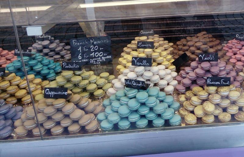 Macarons lizenzfreie stockbilder