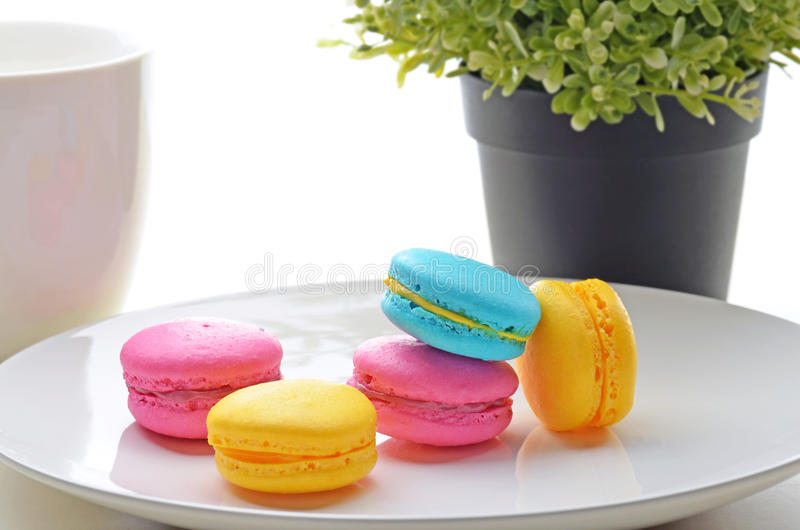 Macarons стоковое фото rf