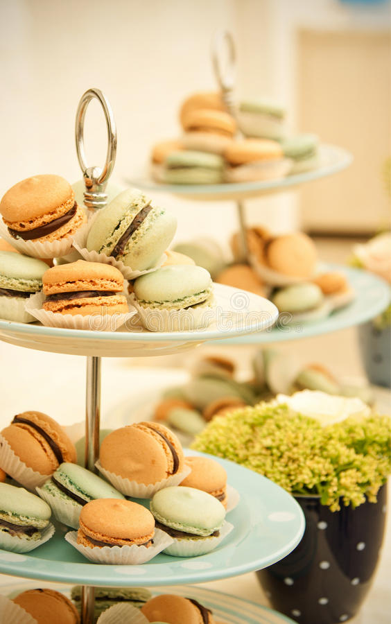 Free Macarons Stock Images - 26064374