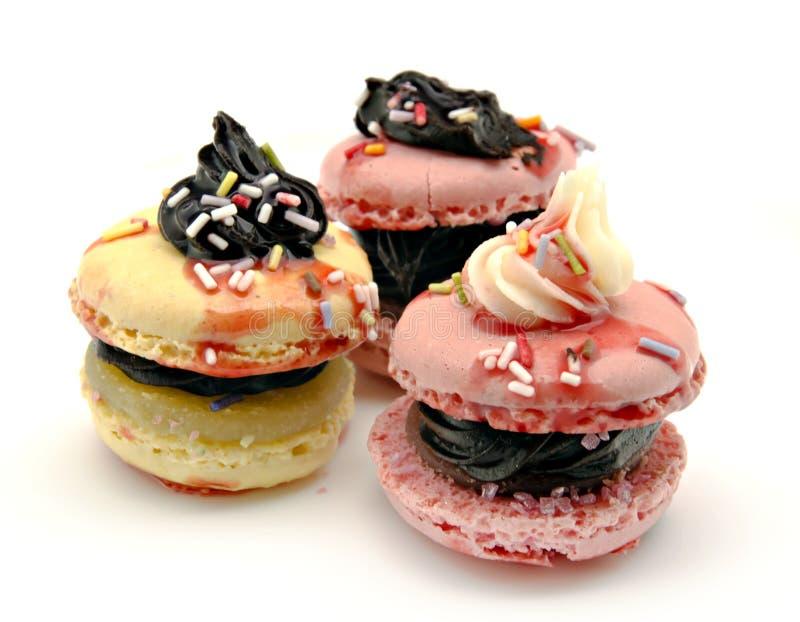 Download Macarons imagem de stock. Imagem de meringue, bolo, alimento - 26521031