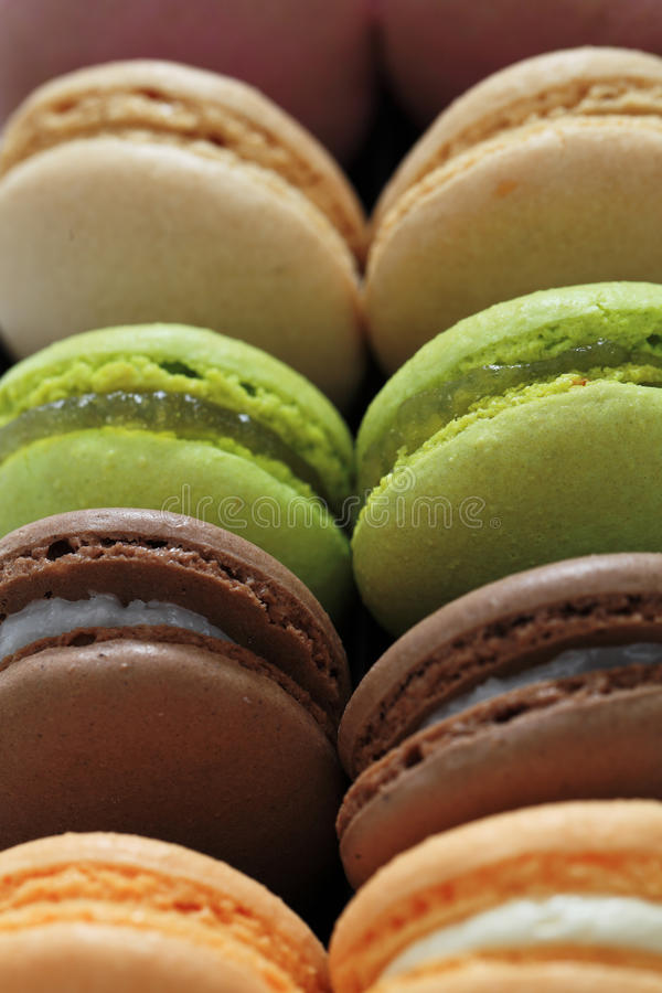 Download Macarons stock photo. Image of food, green, macro, pastry - 28052392