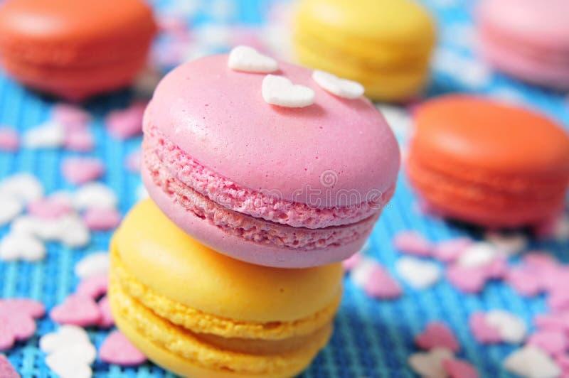 Macarons stock foto
