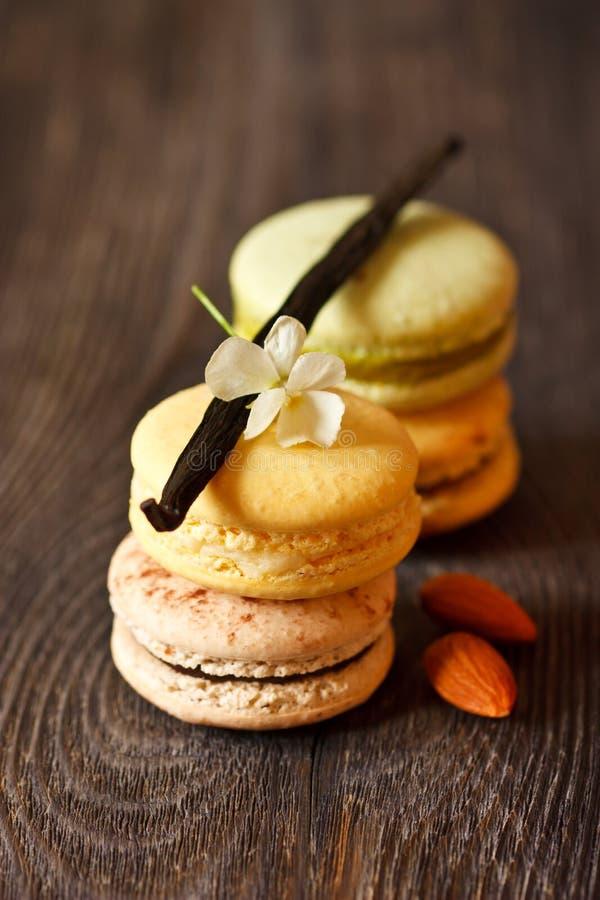 Macarons imagen de archivo