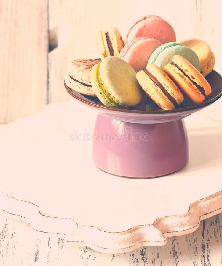 Macarons imagen de archivo libre de regalías