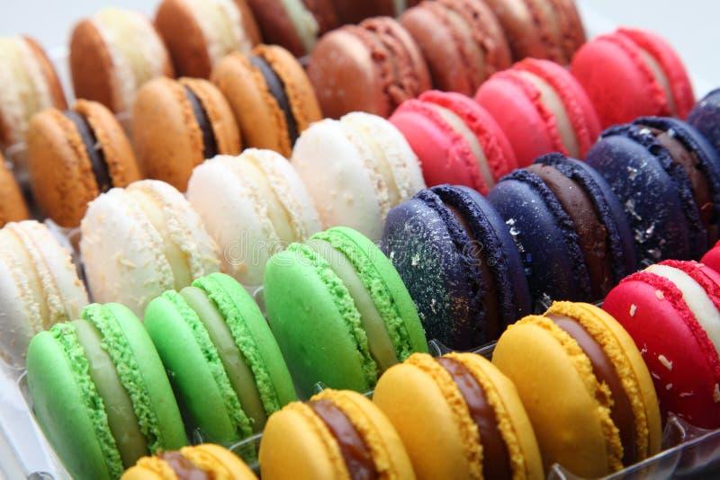 Macarons 免版税图库摄影