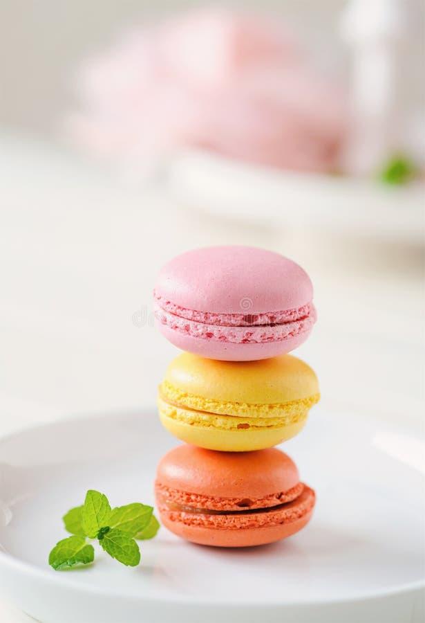 Macarons 免版税库存图片