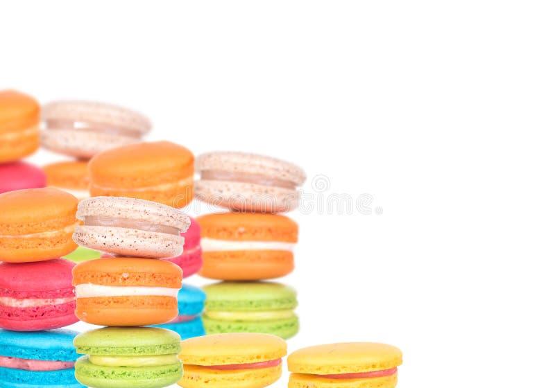 Macarons royalty-vrije stock foto's