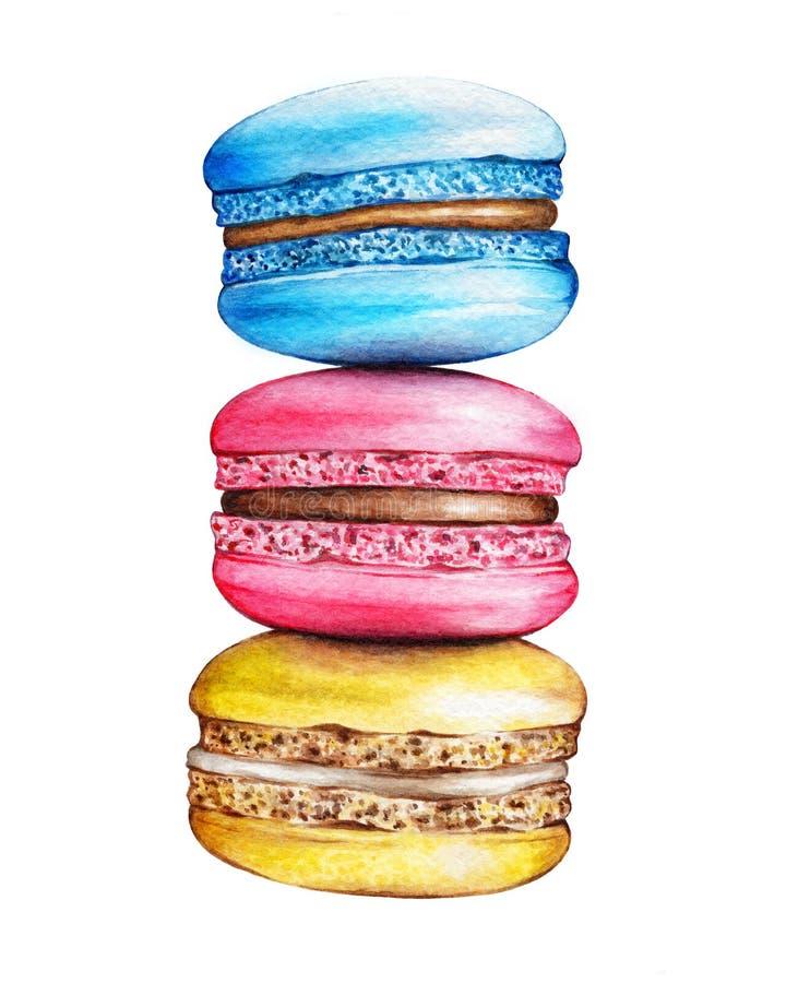 Macarons ilustracji
