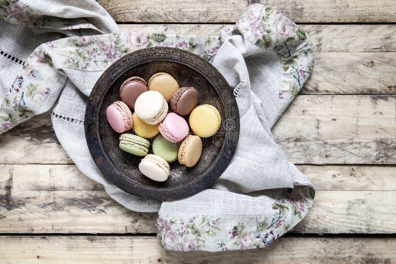 Macarons stockfotografie