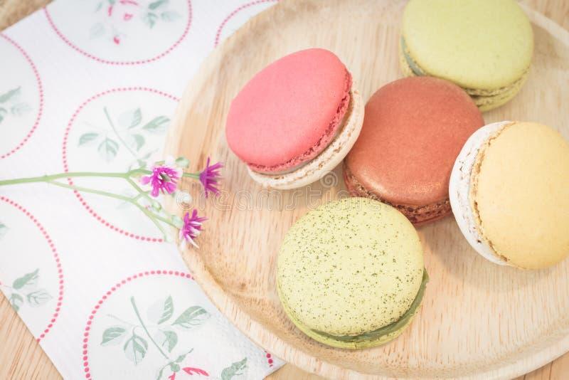 Macarons coloré photos stock