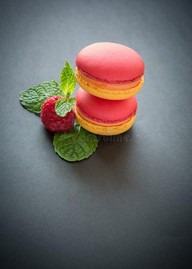 Macarons colorés photo stock