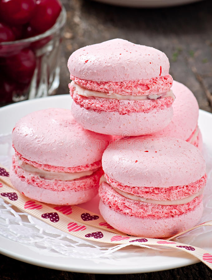 Download Macarons Coloridos Franceses Foto de archivo - Imagen de limón, alimento: 41921654