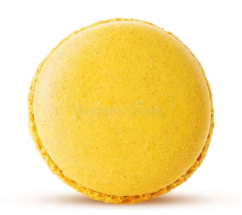 Macarons för söt citron arkivfoton