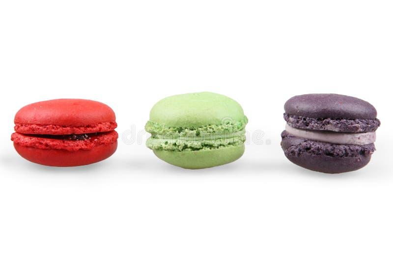 Macarons franceses foto de archivo libre de regalías