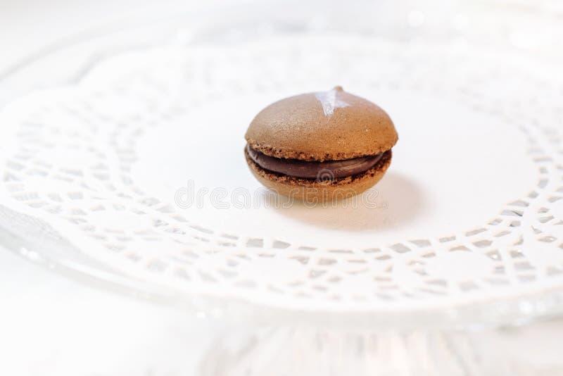 Macarons francuscy ciasta zdjęcia royalty free
