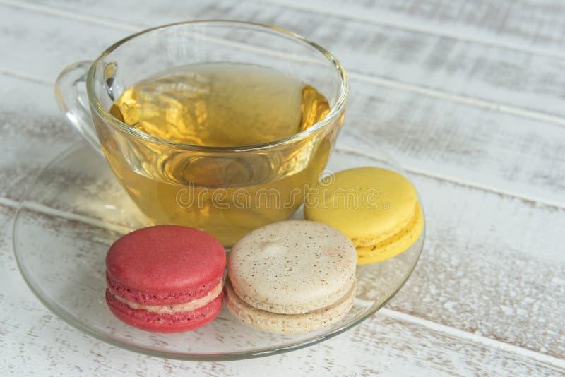 macarons of makarons royalty-vrije stock afbeeldingen