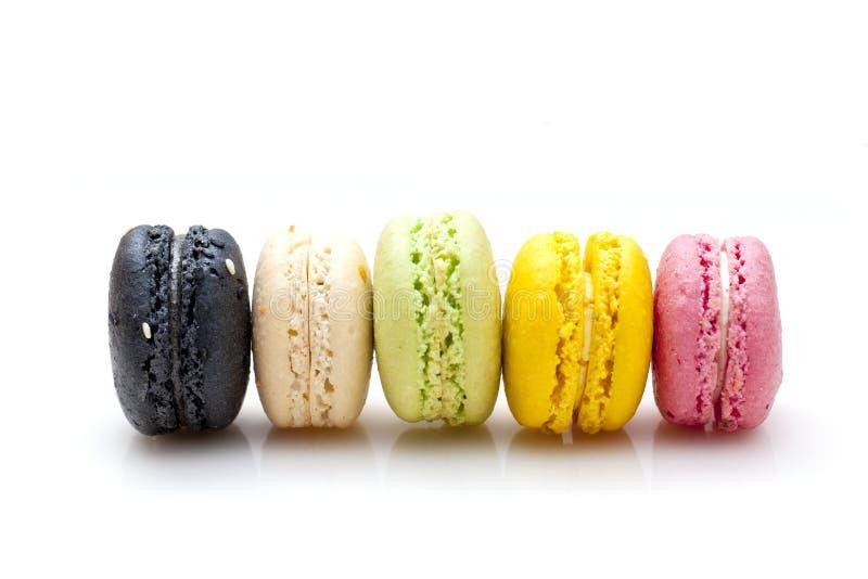 Macarons Nachtisch stockfoto