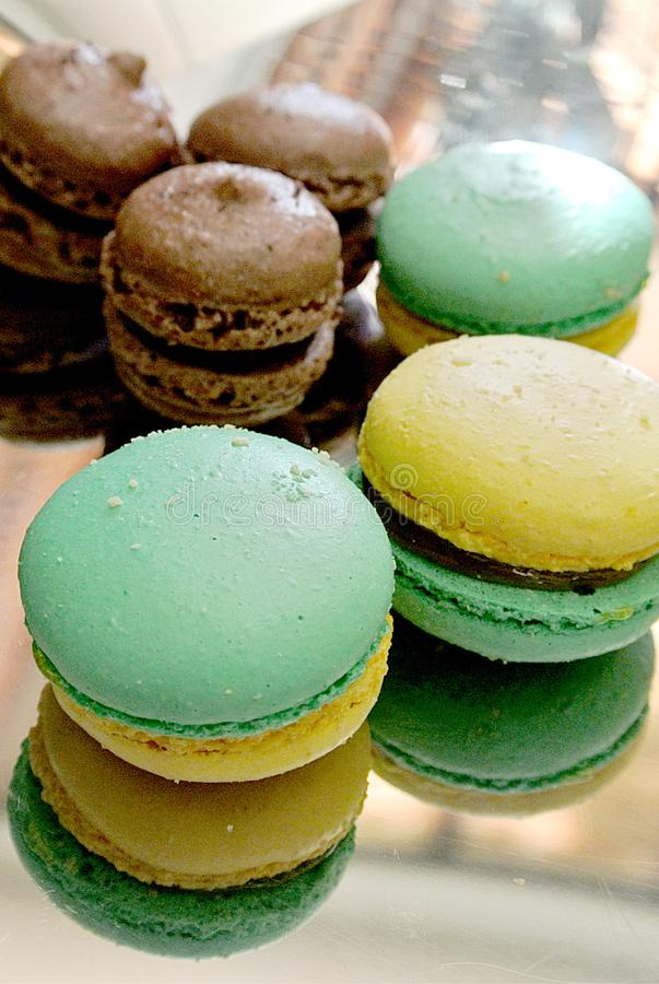 The Macaroons stock photography