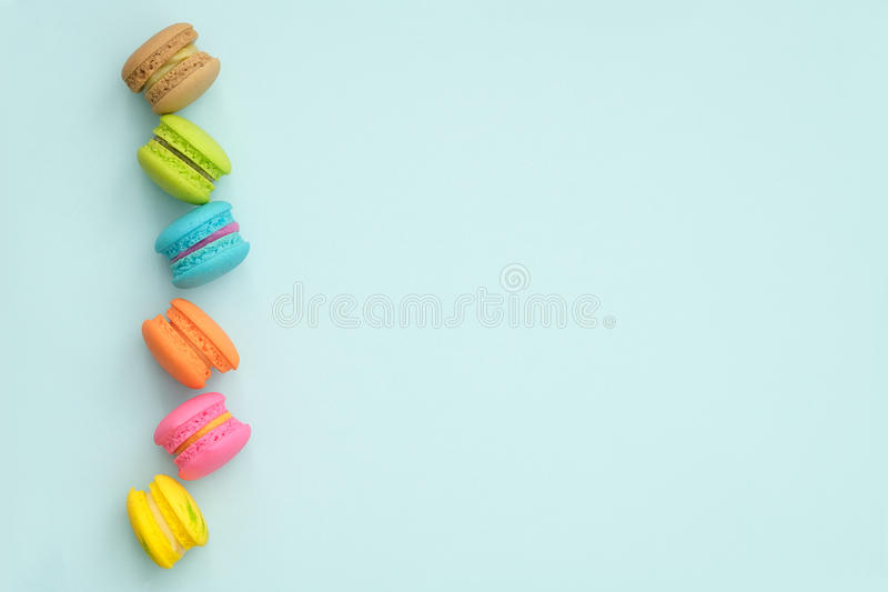 Macaroons stock image