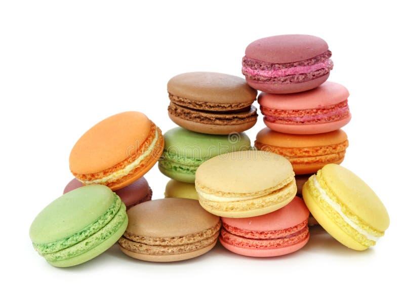 Macaroons coloridos imagem de stock